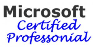 Perry is A Microsoft Certified Professional